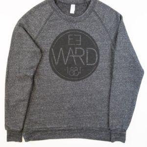 Emblem – Alternative Crew Fleece Pullover – Eco Black