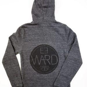 Emblem – Alternative Zip-Up Hoodie – Eco Black