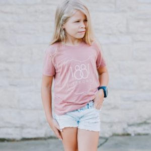 Mauve Youth unisex T-shirt